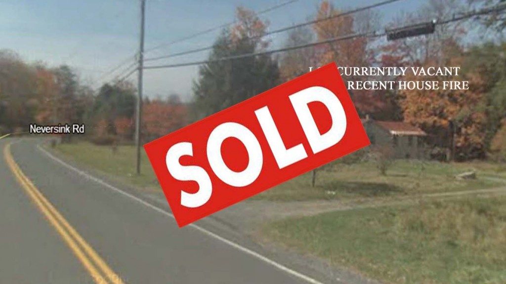Fire Sale! 1 Acre Country Lot Liberty NY – Prior Home Lost to Fire – Well/Septic/Electric In  & Ready to Build – Only $10,900