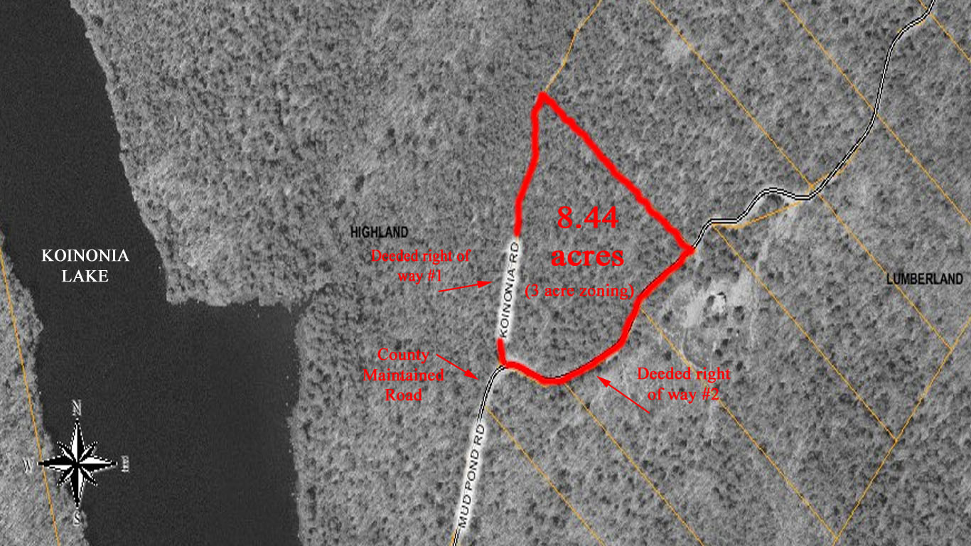 land for sale upstate ny highland ny map view