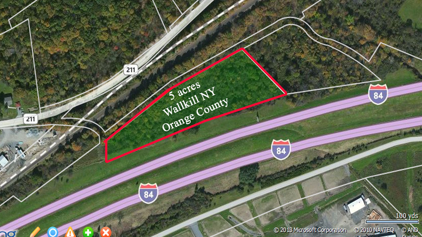 The Hide Out – 5 Secluded Acres Wallkill NY – Orange County – Only $9,900!!!