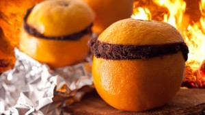Bake a Cake Inside an Orange Peel for a Tasty Campfire Treat