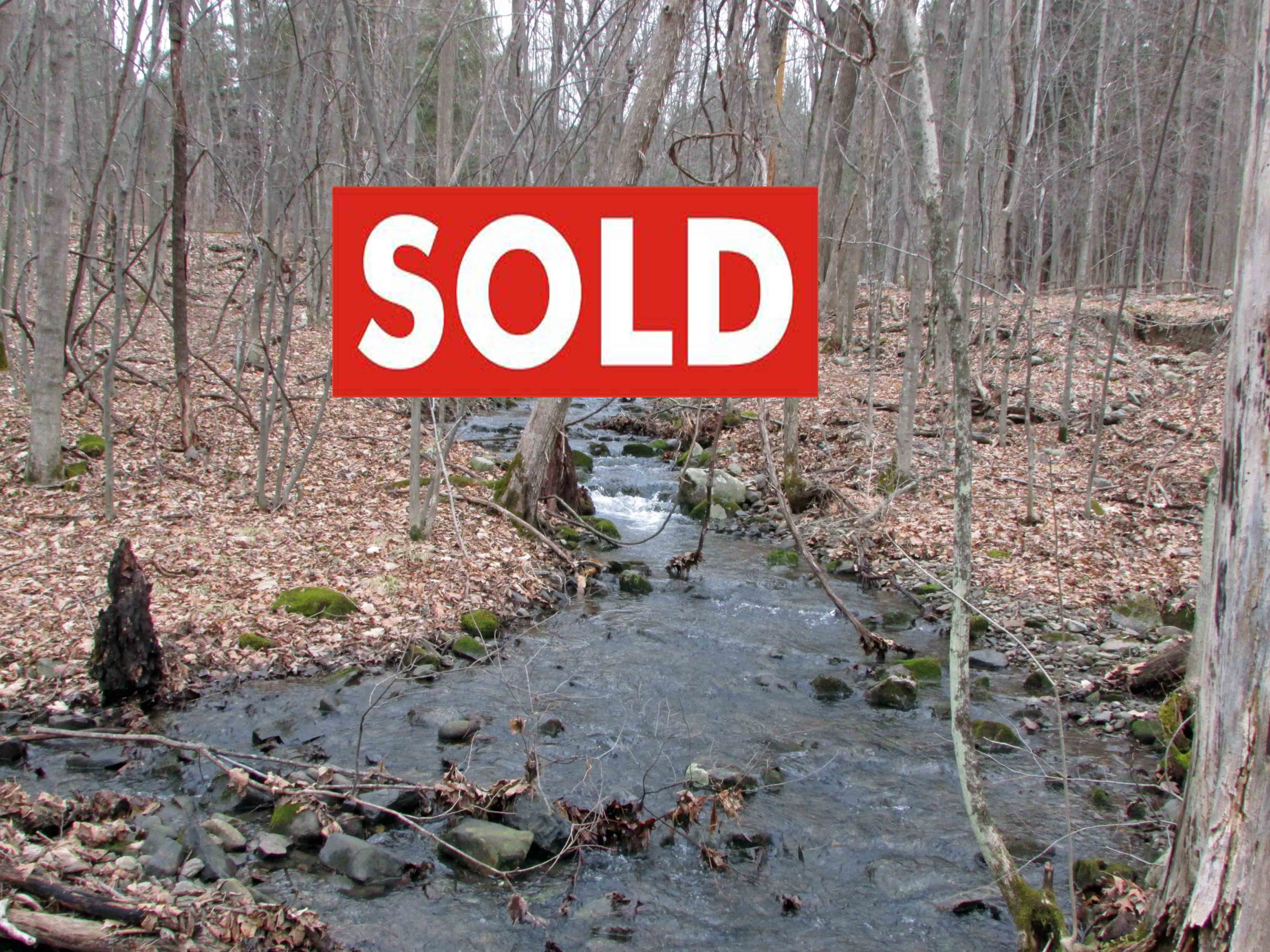 Unique 1.9 Acre Hunters Paradise – Chatham, NY – Crystal Clear Creek – Only $9,900