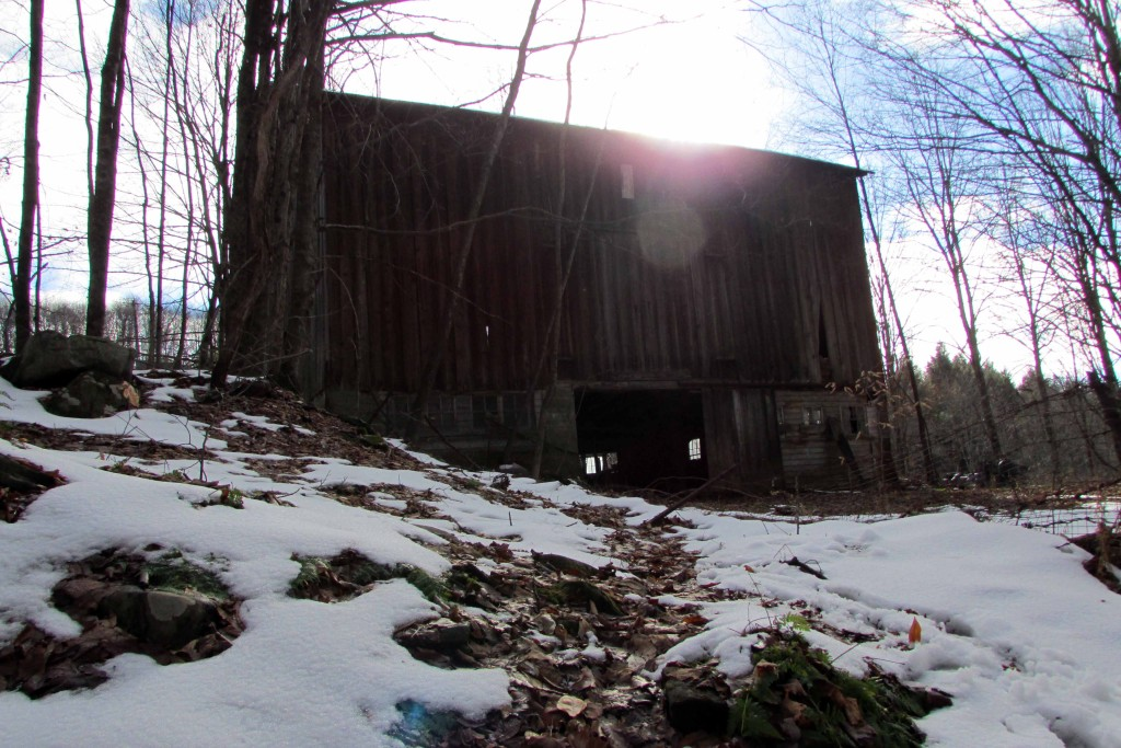 Old Country Barn on 1.8 Acre  Callicoon Lot. Year Round Stream! Mt. views! Only $24,900