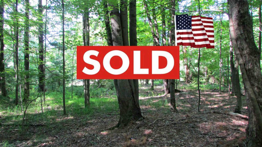 """""""Made in the USA"""" 1.7 Prime Level, Wooded Acres – Pine Bush, NY – 2 hrs/NYC – Mins to state land."""