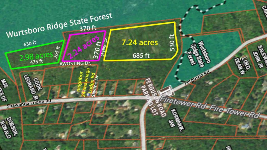 """The Three Amigos"" – Three (3) adjacent Choice Parcels totaling 12.5 acres. Adjoining state forest. Only $27,900!!"