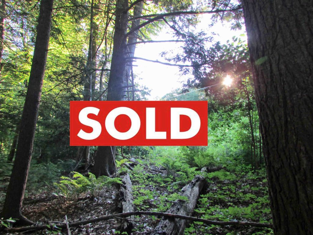 """""""The Crossroads"""" – 1.92 Acre Building Lot, Rosendale, NY – Part clear/part wooded. Mobiles & RVs OK! – Only $10,500!"""