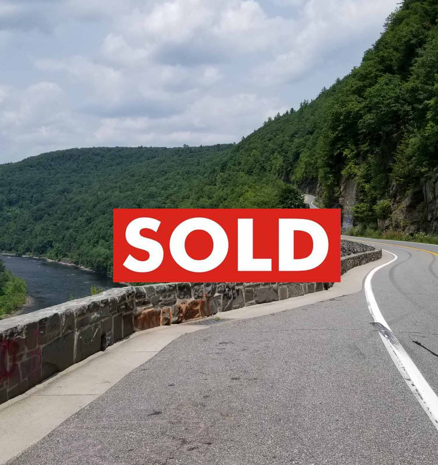 """""""NEW BEGINNINGS"""" in Barryville NY – 6+ Unique Acres – Walk to Delaware – 2 hrs/NYC – Great location – $26,900!"""