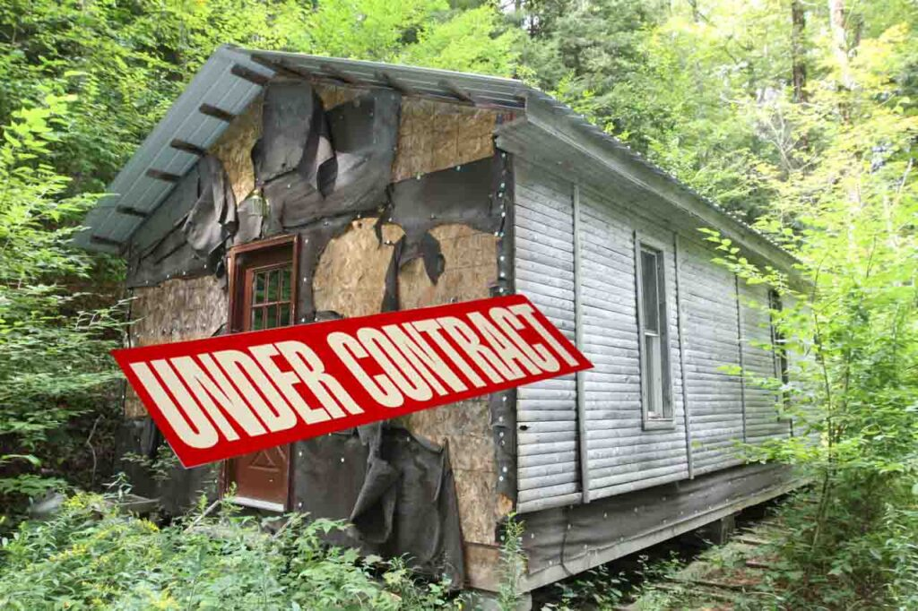 """""""Hi-Vue"""" – 5 Unique Hill Top Acres Decatur NY- Hunting Cabin – Outhouse – Shed – Mt. Views – Only $25,900!"""